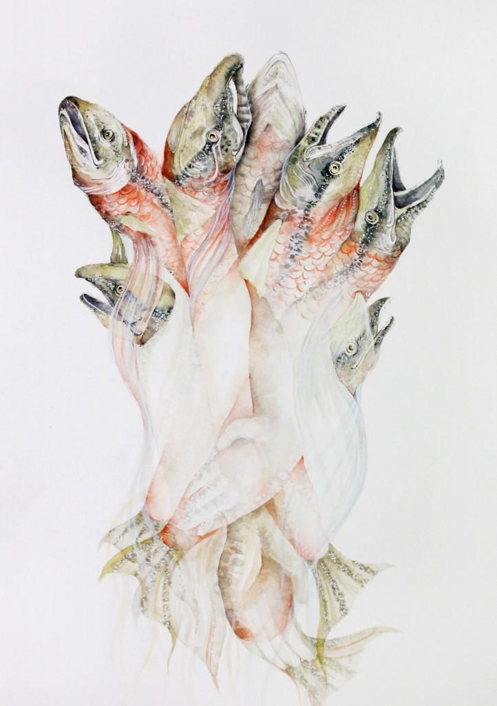 Katie Green Artist feature on Katrina Olson.ca