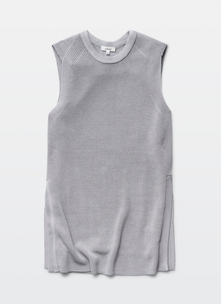 Wilfred Boutique Chinook knitted tank