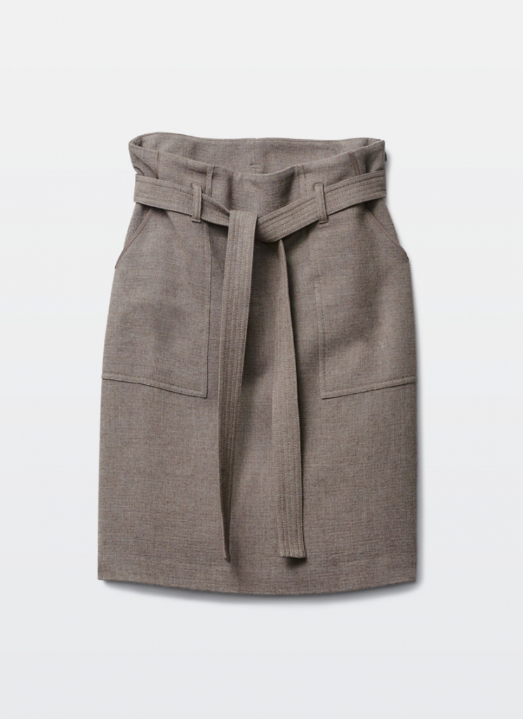 Wilfred Boutique Chinook skirt oatmeal