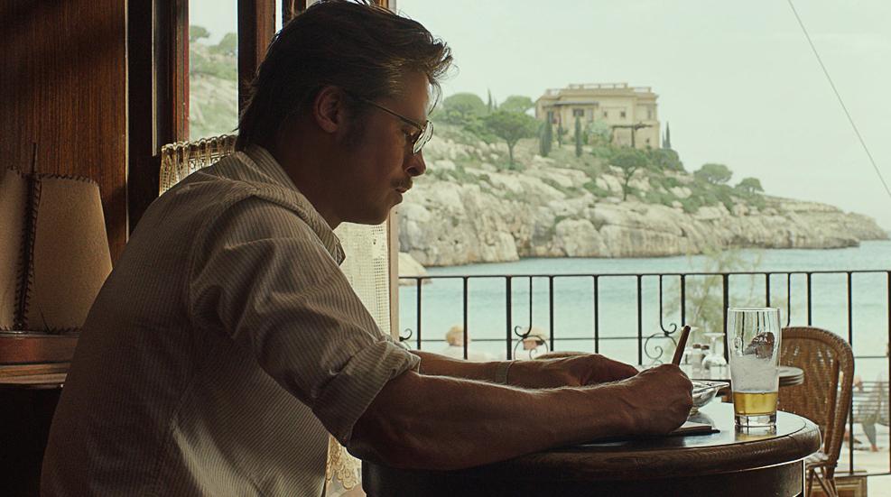 Brad Pitt in By the Sea film still
