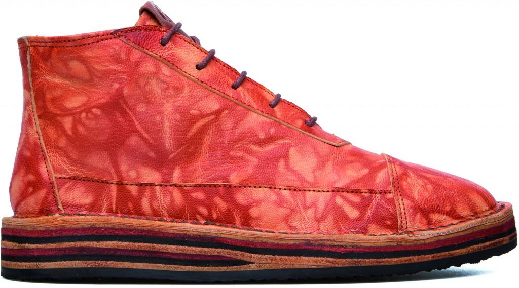 Camper x EFI Camaleon boot in Kaleidoscopic Orange
