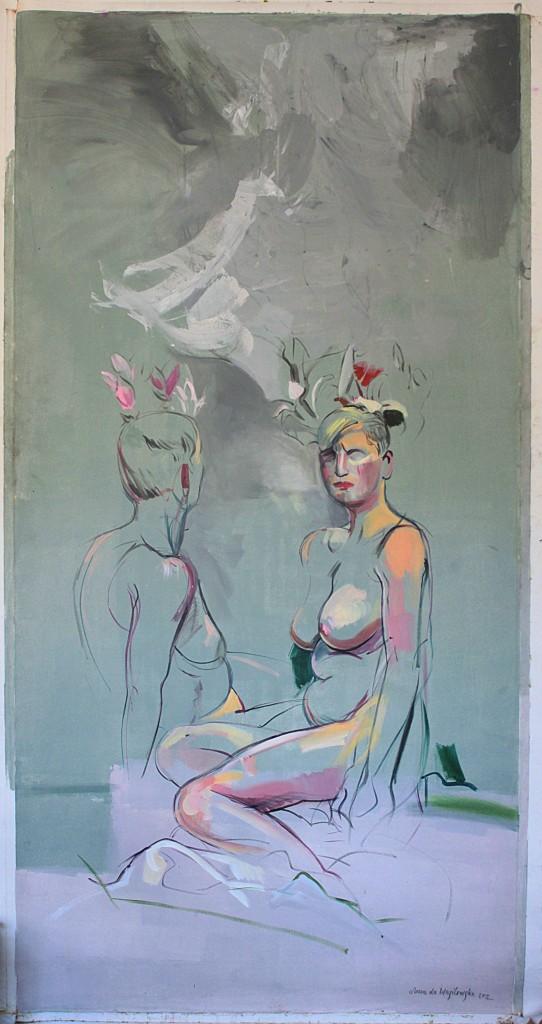 laura-la-wasilewska_-august-in-dresden_2012_acrylic-on-canvas_200_100_cm_2-1